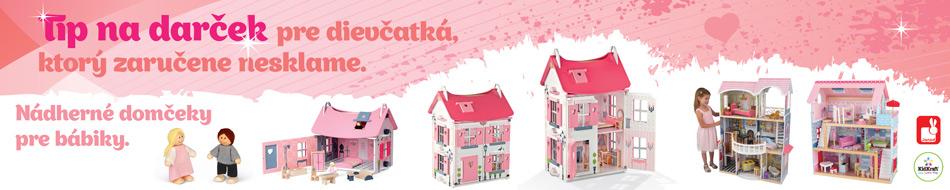 Domčeky pre bábiky, bábiky a príslušenstvo